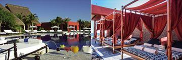 Zoetry Paraiso de la Bonita Riviera Maya, Pool and Bali Beds