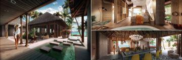 Zuri Zanzibar, Three Bedroom Ocean Front Luxury Villa