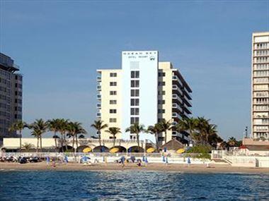 Hotel exterior, Ocean Sky Hotel
