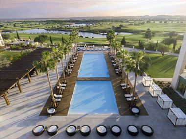 The pool at Anantara Vilamoura Algarve Resort