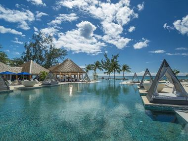 The pool at Sandals Royal Barbados
