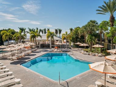 Sirata Beach Resort pool