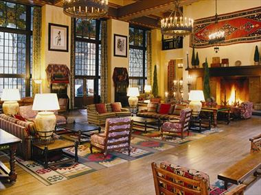 The Great Lounge, The Ahwahnee Yosemite