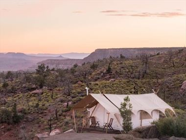 Under Canvas Zion Glamping