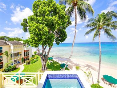View from suite at Treasure Beach by Elegant