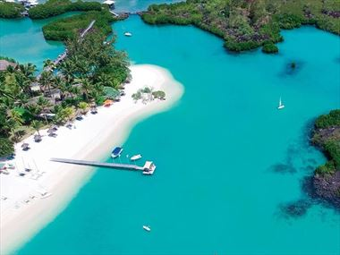Aerial view of Constance Prince Maurice