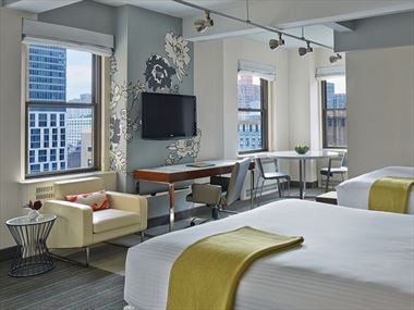 Suite with Two Queen Beds, Stewart Hotel NYC