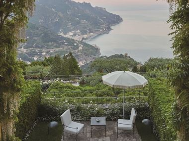 Private terrace at Belmond Hotel Caruso