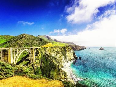 Road tripping coastal California