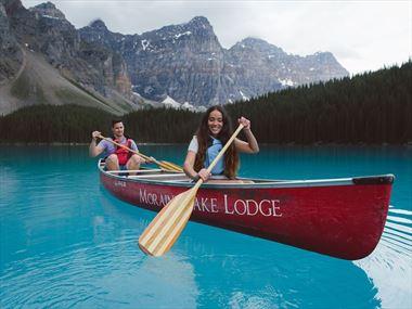Exploring Alberta in the summer