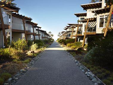 Cox Bay Beach Resort suite exteriors