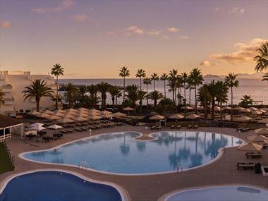 The main pool at Dreams Lanzarote Playa Dorada Resort & Spa