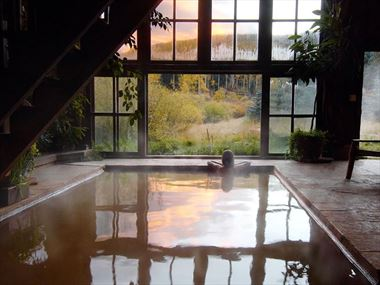 Experience Colorado's best natural hot springs