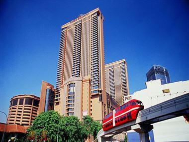 Exterior view of Berjaya Times Square Hotel