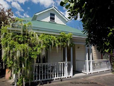 Exterior view of Great Ponsonby Bed & Breakfast