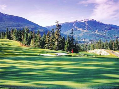 Whistler, Canada's number one golfing destination