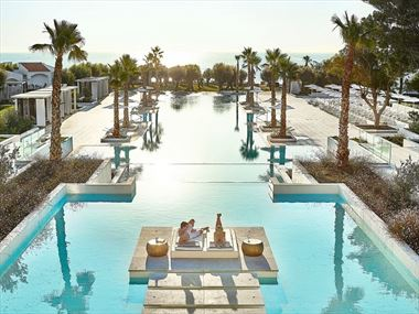 Main pool at Grecotel LUX ME Dama Dama
