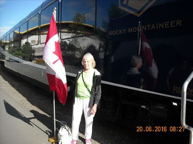 Marie - Rocky Mountaineer