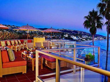 Rooftop Terrace, The Inn at Laguna Beach
