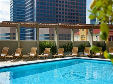 Rooftop pool at Sheraton New Orleans