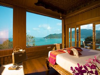 Santhiya Resort & Spa Deluxe Room with ocean views