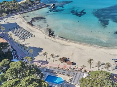 Secrets Mallorca Villamil Resort & Spa from above