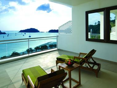 The Danna Langkawi Grand Viceroy terrace