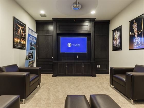 Balmoral Resort movie room