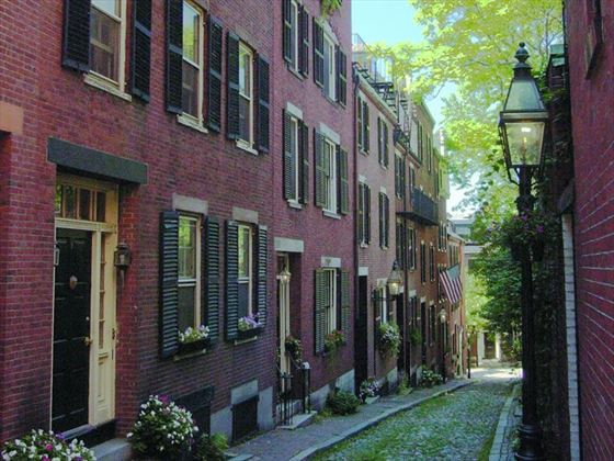 Beacon Hill Street, Boston, USA