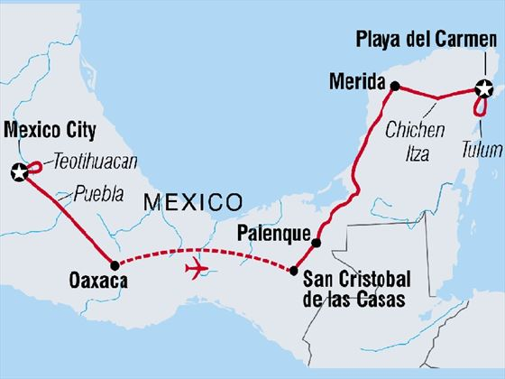 Best of Mexico 15-day tour
