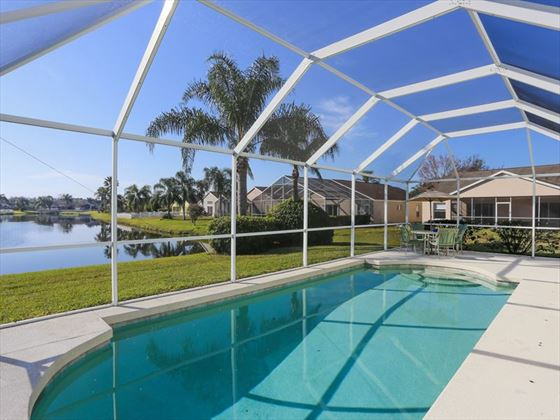 Typical Bradenton Sarasota Area Home - Private Pool