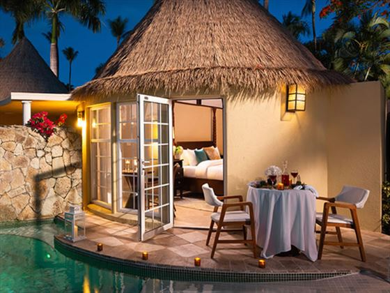 Caribbean Honeymoon Butler Rondoval with Private Pool Sanctuary
