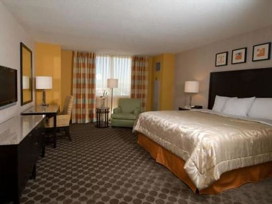 West Tower Standard King guestroom