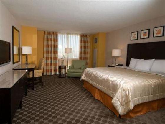 West Tower Standard King guestroom