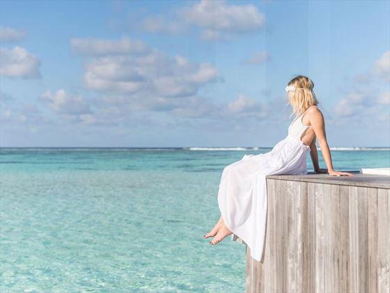 Conrad Maldives Rangali Island bride