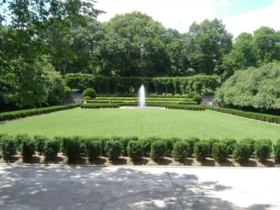 The Italian Garden in Conservatory Gardens