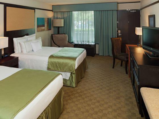 Doubletree Resort at SeaWorld, double guestroom, Orlando
