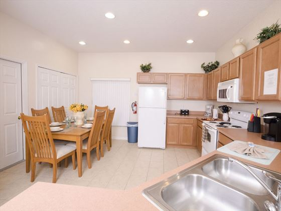 Example of High Grove Homes  - Dining Area
