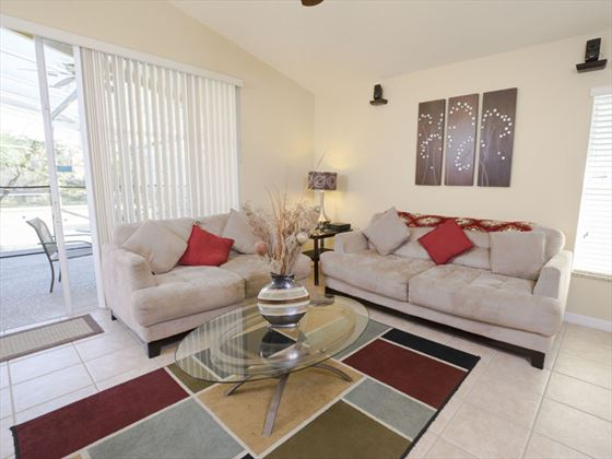 Example of Highlands Reserve Home - Living Area