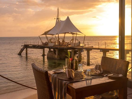 Beautiful ocean view for your wedding setting