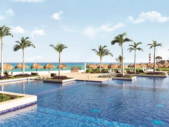 Main Pool at Hyatt Ziva Cancun