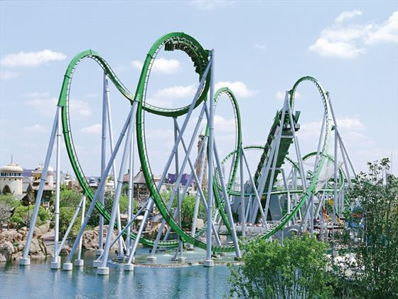 Incredible Hulk Coaster, Universal Resort Islands of Adventure, Orlando