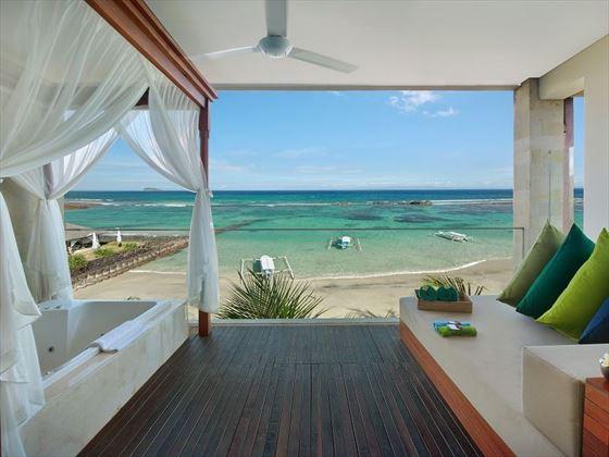 Luxury Ocean View Suite Balcony