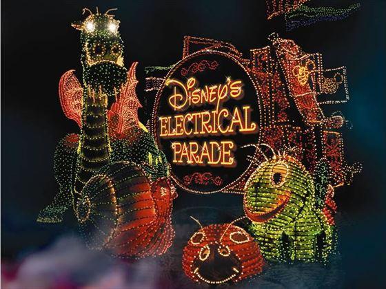 Electric Light Parade at Magic Kingdom, Walt Disney World, Orlando