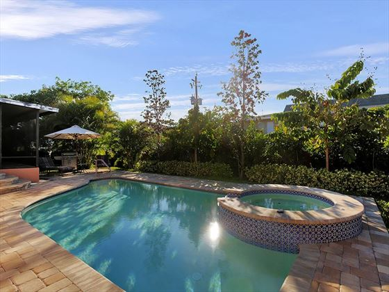 Example of a Marco Island Area Home - Private Pool