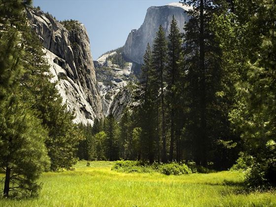 Mountains in Yosemite National Park