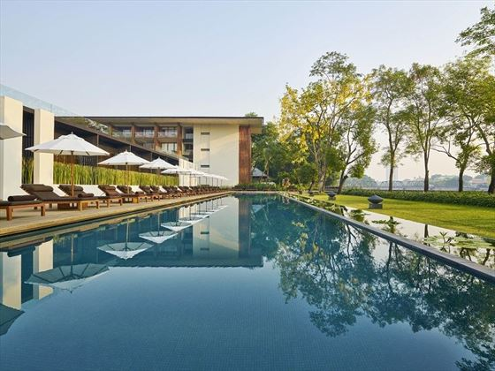 Pool View Anantara Chiang Mai