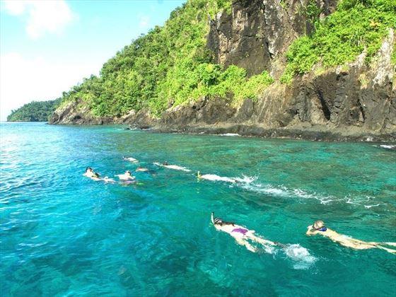 Qamea Resort Snorkel Group