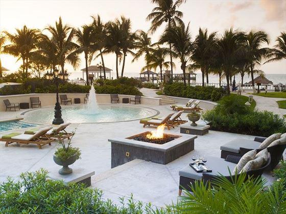 The pool at Sandals Royal Bahamian Spa Resort