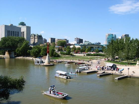 The Forks National Historic Site, Winnipeg